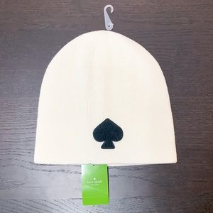 "Kate Spade ""Spade"" Beanie Winter Hat"